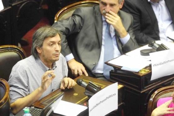 Máximo Kirchner firmó el proyecto