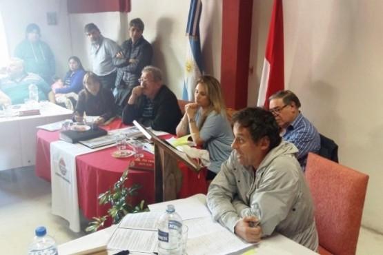 Ultima Convención realizada en El Calafate. (Foto Miguel Del Buono)