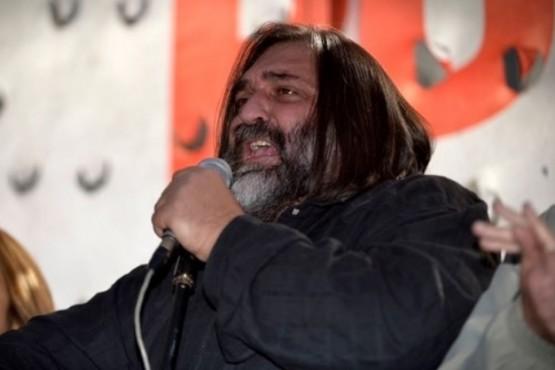 El gremialista Roberto Baradel (Gustavo Gavotti)