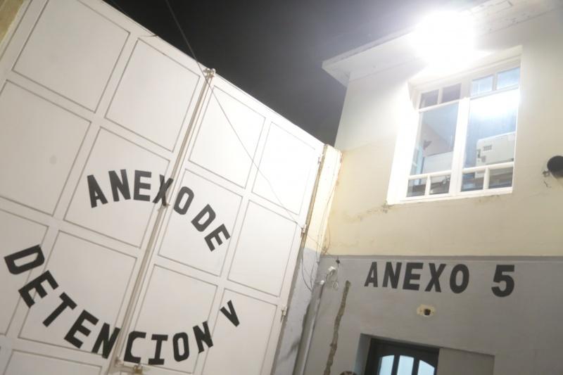 Sucedió en el Anexo 5.