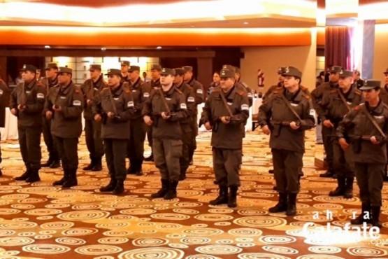 Gendarmería celebró su aniversario con reconocimientos y un pedido de la iglesia católica