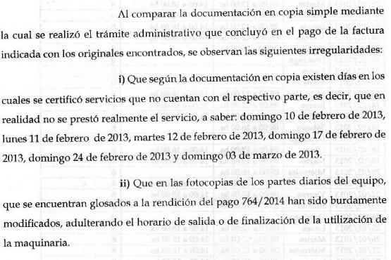 Ediles denunciaron penalmente a 11 ex funcionarios incluido el ex intendente Cantín