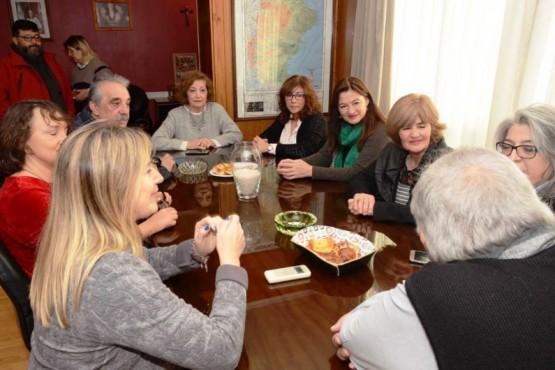 Mujeres integrantes del peronismo nacional visitan Río Gallegos