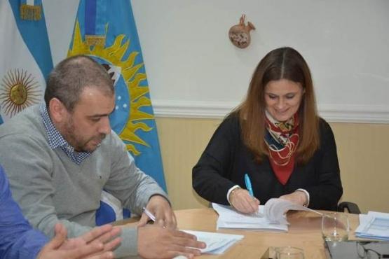 Desarrollo Social renovó convenio con el municipio de Caleta Olivia