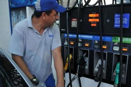 Desde este domingo, los combustibles de YPF cuestan entre un 5% y un 8% más