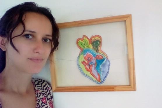"""Cecilia Caamaño Pagniez presentará """"Estallando"""" en el Complejo Cultural"""