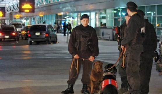 El alerta rigió en varios aeropuertos.