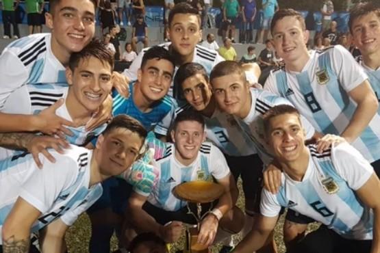 La Selección Sub 20 superó 2-1 a Rusia y se consagró campeona en el torneo de L'Alcúdia