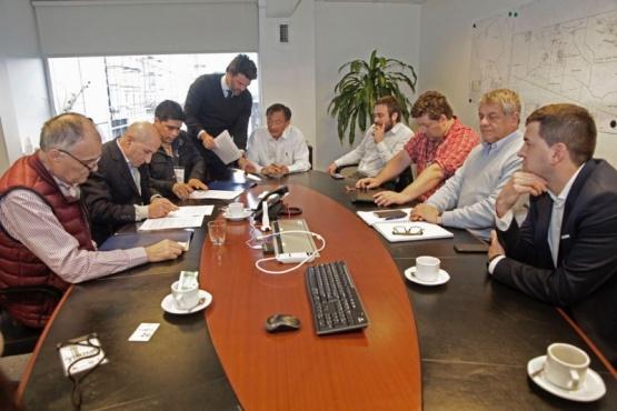 Firmaron convenio con SINOPEC y se esperan 240 nuevos puestos de trabajo