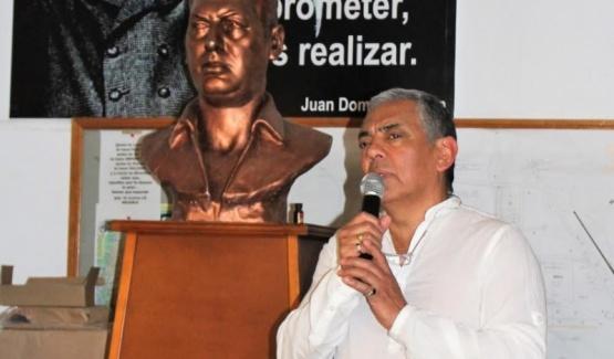 Jorge Soloaga, presidente de la Comisión de Fomento.