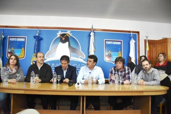 Se trata de un convenio de cooperación entre el Municipio, la Nación y gremios