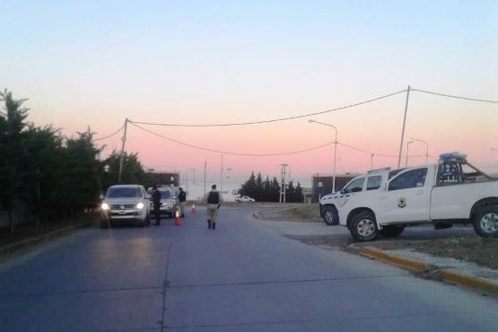 División Operaciones Rurales Caleta Olivia realizó controles