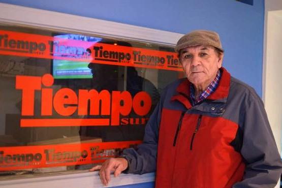 """""""Chiquito"""" Acosta, en TiempoSur."""