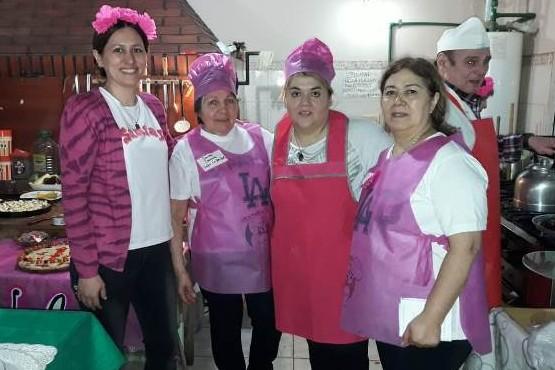 El pasado viernes se concretó un concurso de pizzas del cual participaron todos los centros.