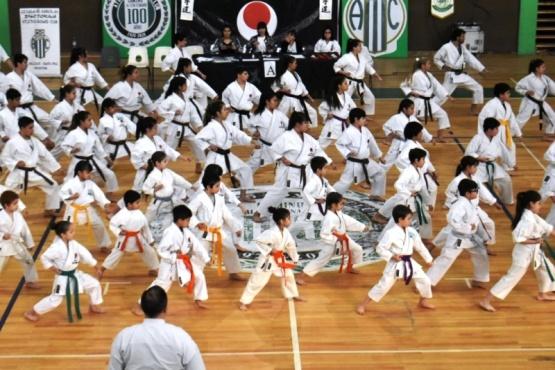 El karate tuvo su torneo aniversario.