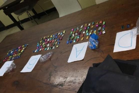 Encontraron cocaína en chalecos antibalas de la Brigada Antidrogas