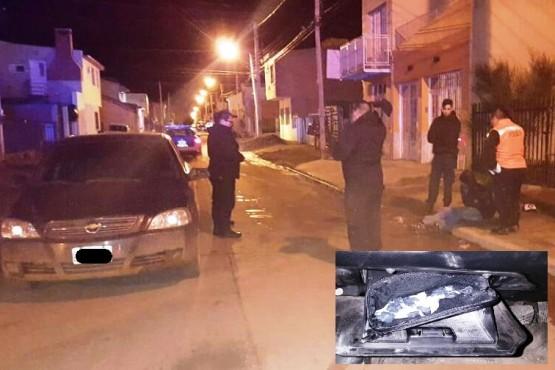 Lo detuvieron con 40 envoltorios de cocaína: quiso escapar a los golpes
