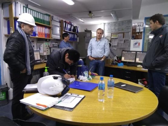 El IESC inspeccionó centrales térmicas