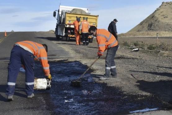 Reparación provisoria del deteriorado tramo de la Ruta Nacional N°3