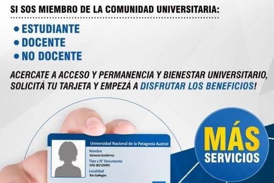 Relanzan la tarjeta UNPA con múltiples beneficios para la comunidad universitaria