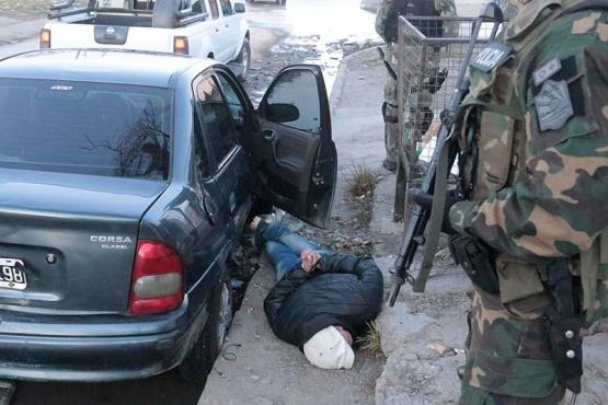 Allanamiento y detenido tras robo