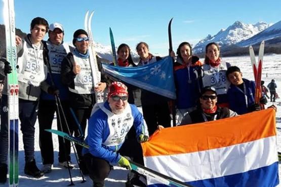 El Club Andino Río Turbio presente en la Marcha Blanca de Ushuaia