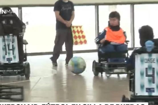 Fútbol Powerchair, un nuevo deporte que apuesta a la inclusión
