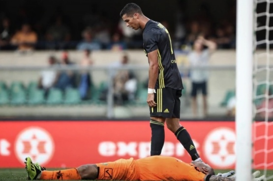 La imagen más cruel de Cristiano Ronaldo en la Juventus que generó una ola de críticas