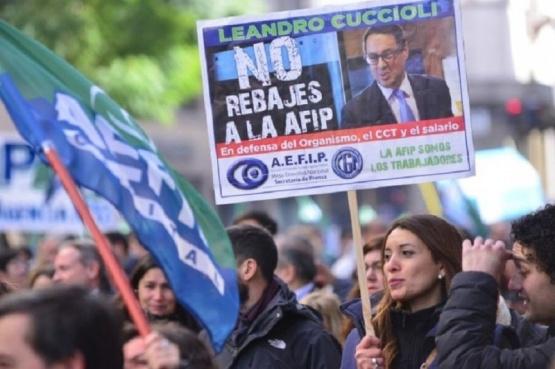 Asambleas permanentes y atención reducida en AFIP