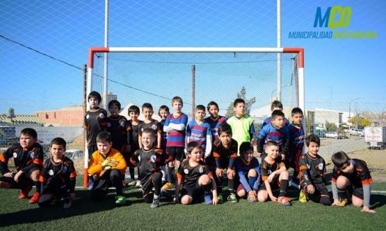 El Fútbol infantil reunió a 32 equipos de fútbol