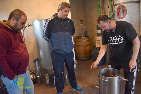 Presentaron una planta de cerveza artesanal en Caleta Olivia