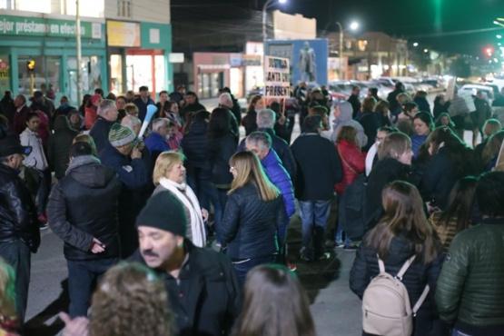 En Río Gallegos también se pidió por el desafuero a Cristina