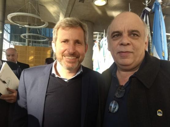 Giubetich con Frigerio y Rodríguez Larreta por el Urban20