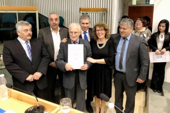 José Saracano es ciudadano Ilustre Provincial