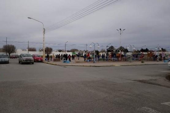 Evacuaron escuela por robo del tiro balanceado de un calefactor