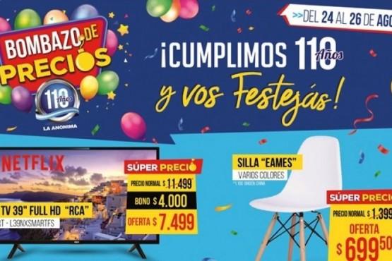 Súper fin de semana de descuentos en La Anónima
