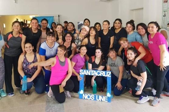 """Realizaron """"Mujeres en Movimiento"""" en el interior de la provincia"""