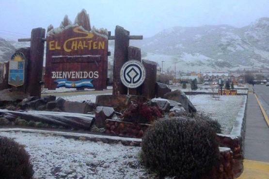 Nieve en Río Gallegos, la Cuenca y El Chaltén