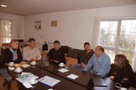 Concejales visitaron la UNPA para brindar