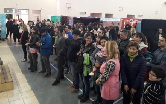 Quedó inaugurada la muestra con 62 proyectos.