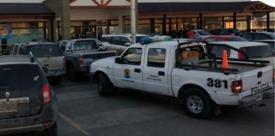 Reforzaron la seguridad en el supermercado.