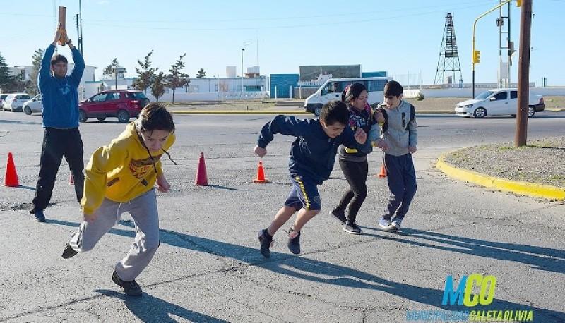 Los chicos buscan llegar a Mar del Plata.