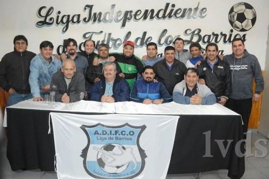 """El fútbol de los barrios tiene nuevo """"Presi"""" en zona norte"""