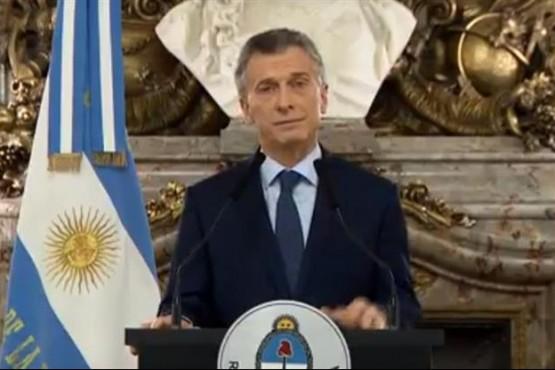 Macri afirmó que el país está en