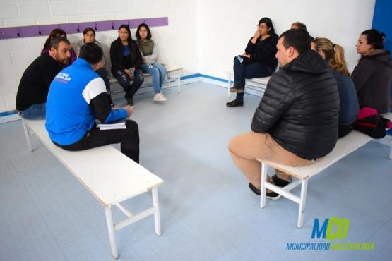 """Reunión con la Escuela Municipal de Atletismo """"Patagonia Sur"""""""