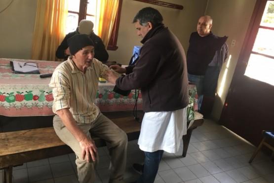 Hubo operativo de salud rural
