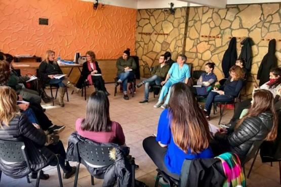 Reunión organizativa en APEL
