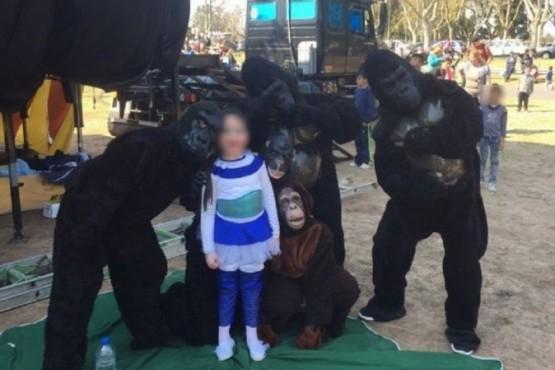 Denunciaron por maltrato animal a un circo, pero eran personas disfrazadas