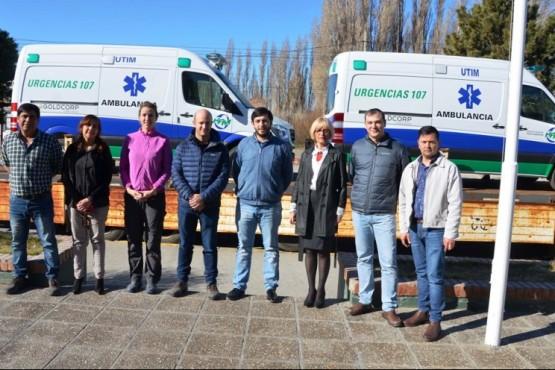 Dos unidades de terapia intensiva móvil para el hospital distrital