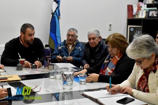 Municipio propuso jornada de trabajo en conjunto con jubilados